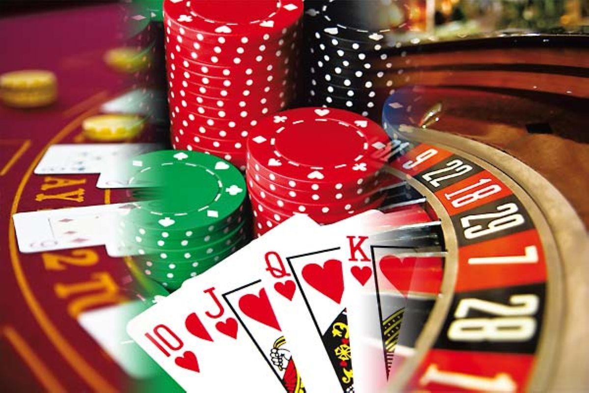 Casino Games Collage