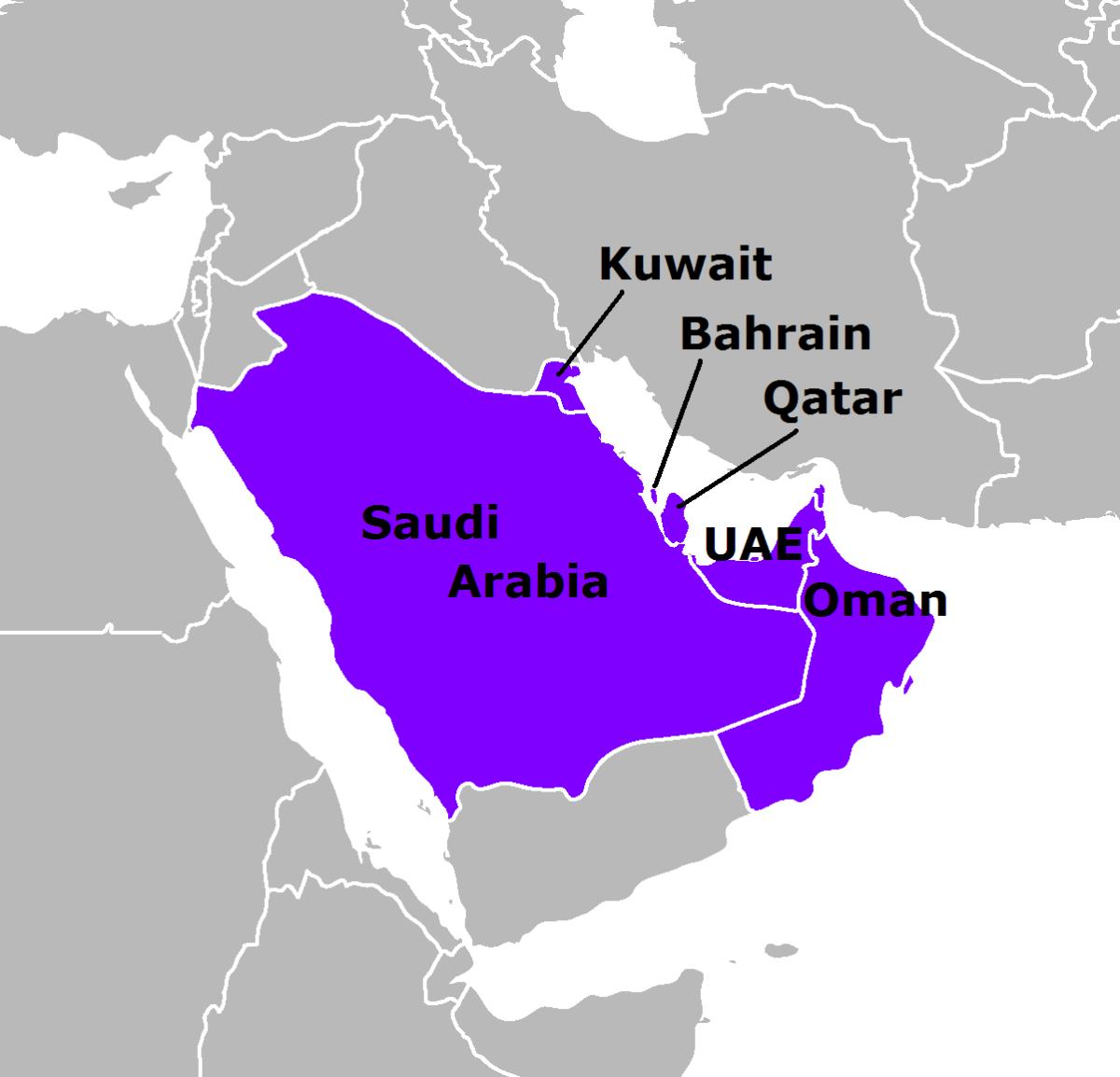 persian gulf arab states english 0