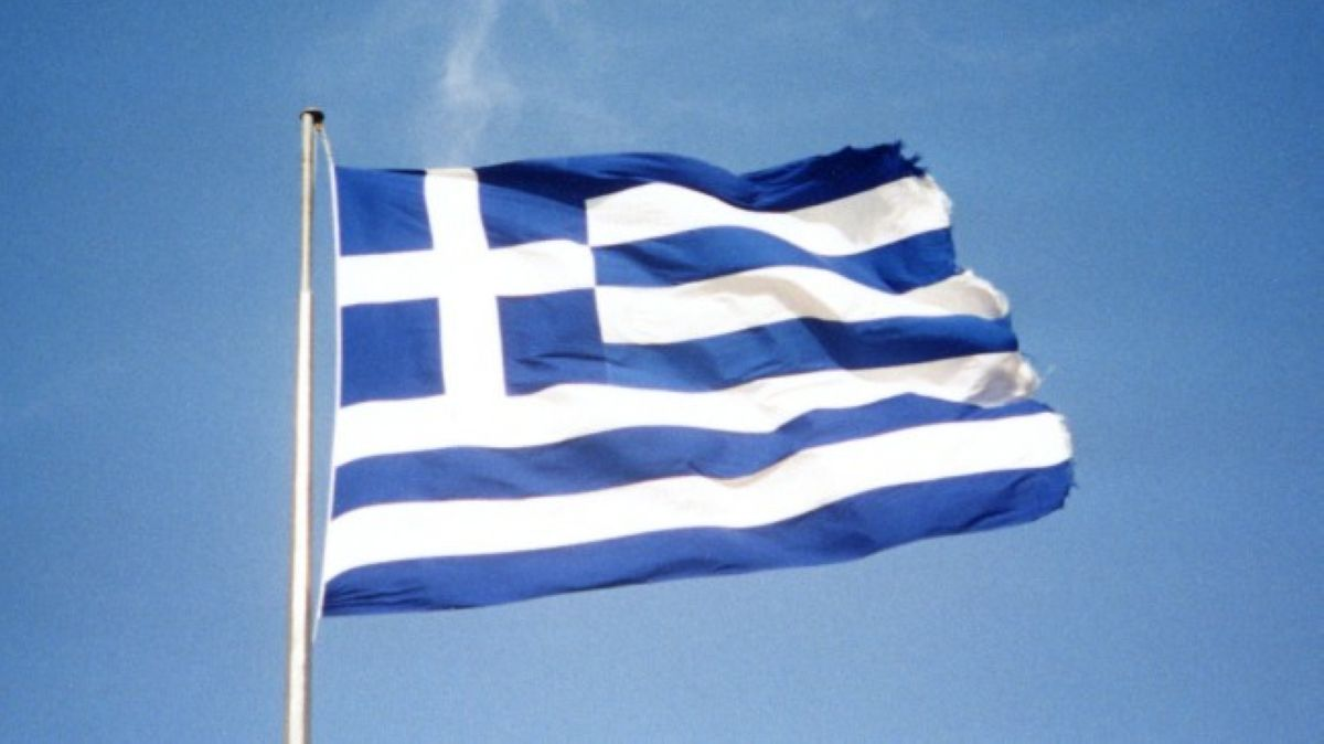 Greek flag by Marios Planet at Flickr CC BY NC