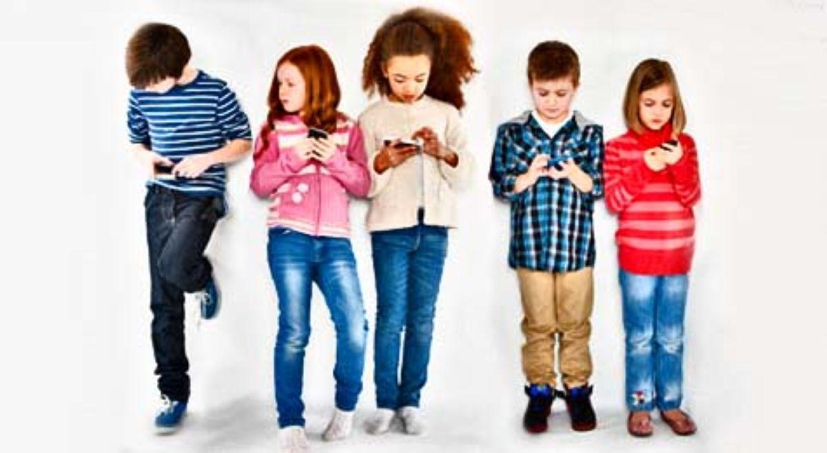 children addicted gadgets