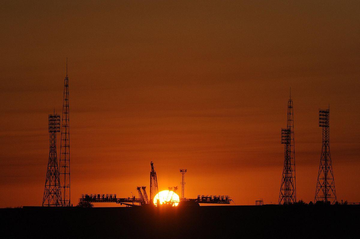 1200px Baikonur Cosmodrome Soyuz launch pad