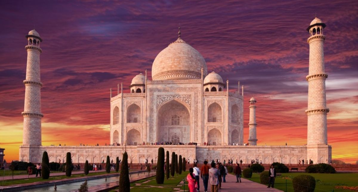 Taj Mahal Indian Monument Ultra HD Desktop Wallpaper
