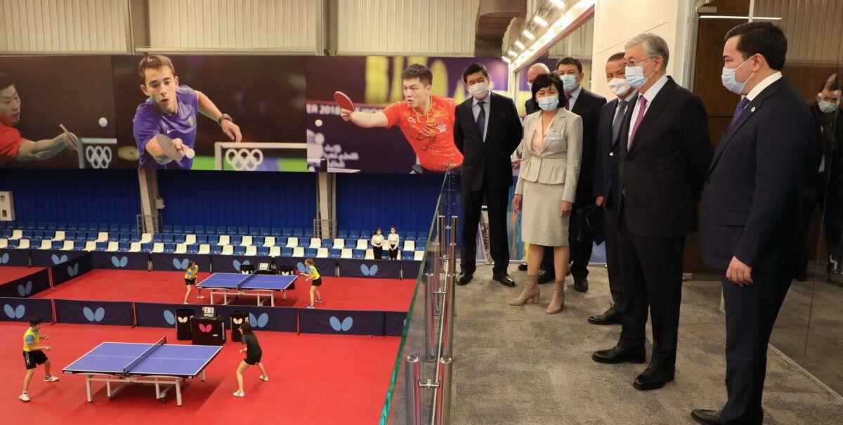 Президент Қарағандыдағы бірқатар спорт нысанын аралады