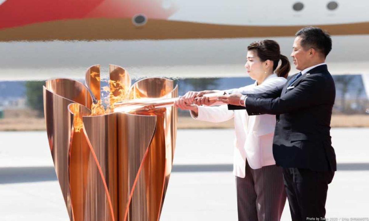 Toquio 2020 Chama Olimpica