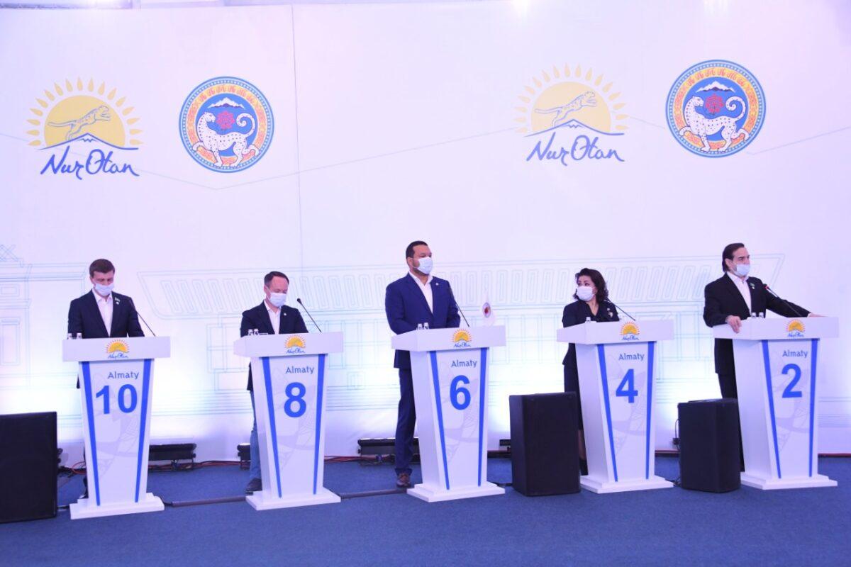 Парламент Мәжілісінің партиялық тізіміне кандидаттар анықталды