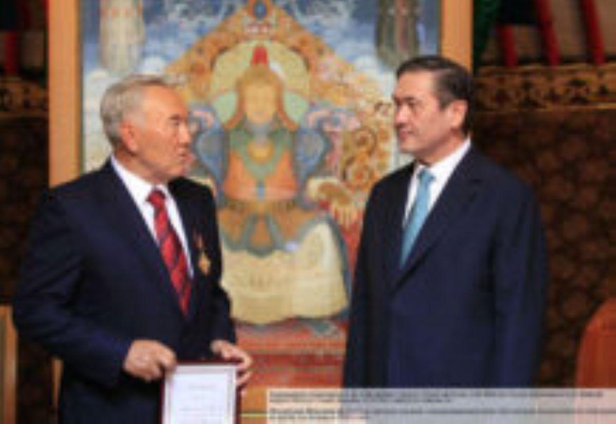 Намбарын Энхбаяр Назарбаев