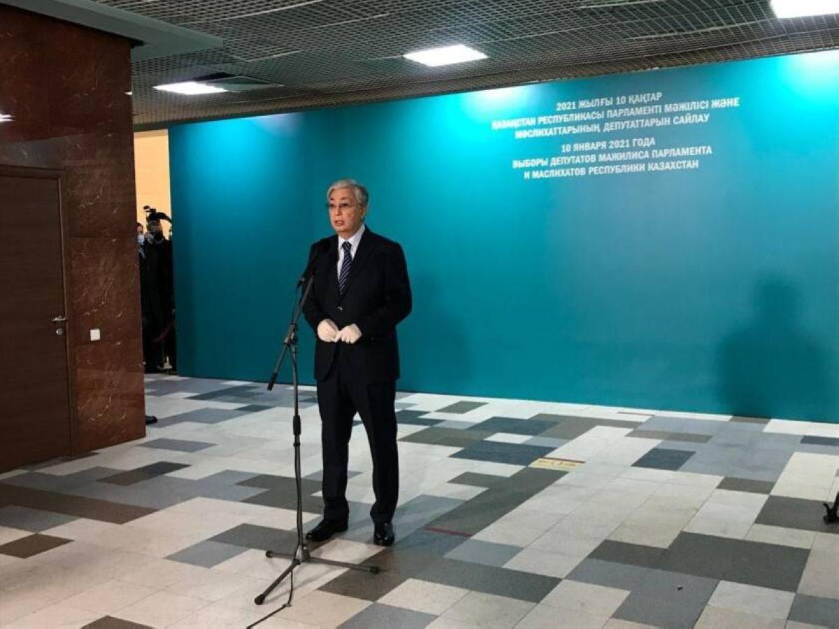 Мемлекет басшысы Қасым-Жомарт Тоқаев дауыс берді
