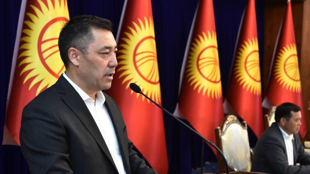 kyrgyzstan parliament names japarov new pm