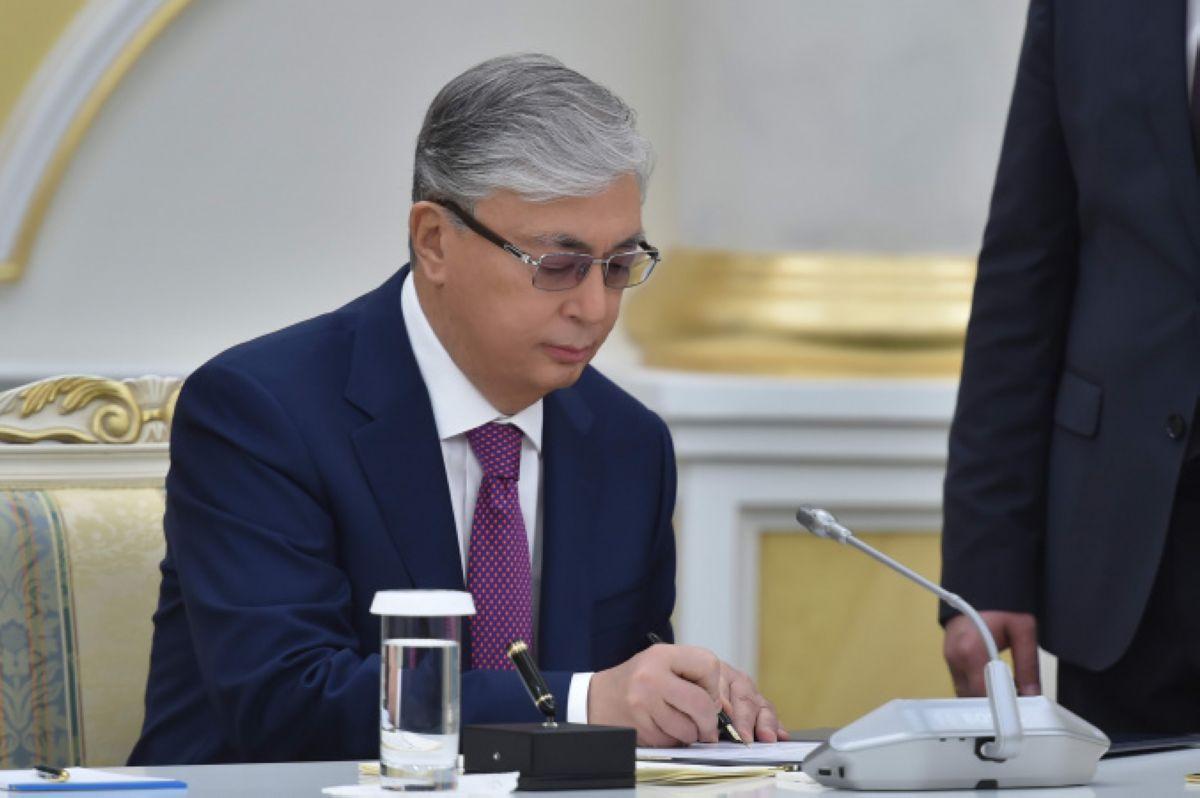 prezident tokaev podpisal ryad zakonov baigenews.kz
