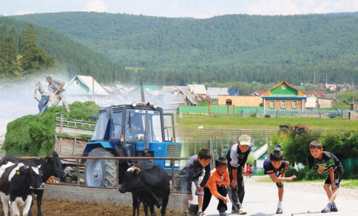 bashkir village